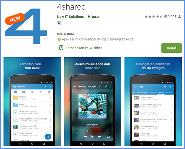 4shared Aplikasi Download Lagu Terbaik Di Android