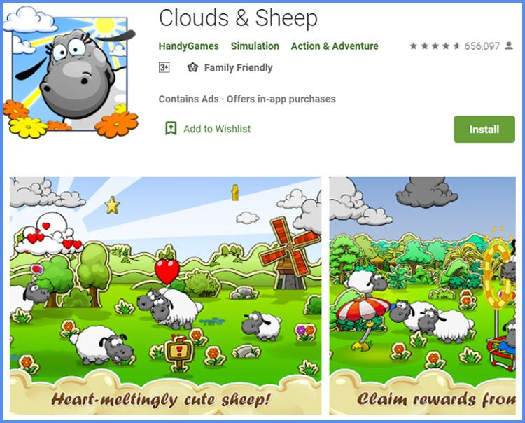 Clouad And Sheep Game Peternakan Domba