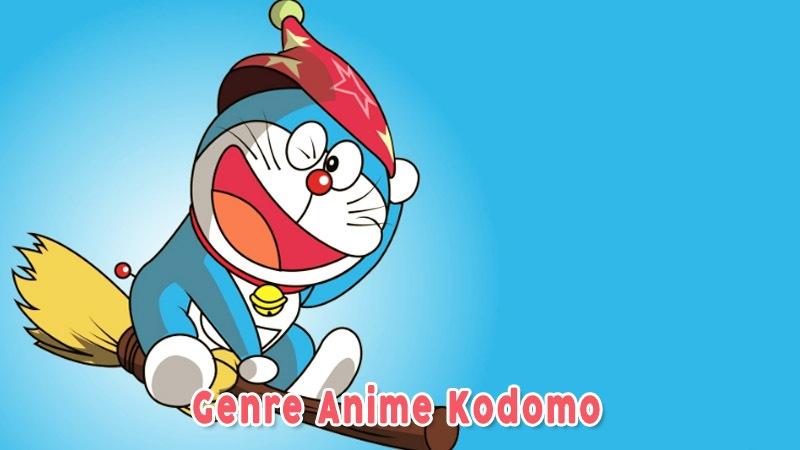 Doraemon Contoh Genre Anime Kodomo