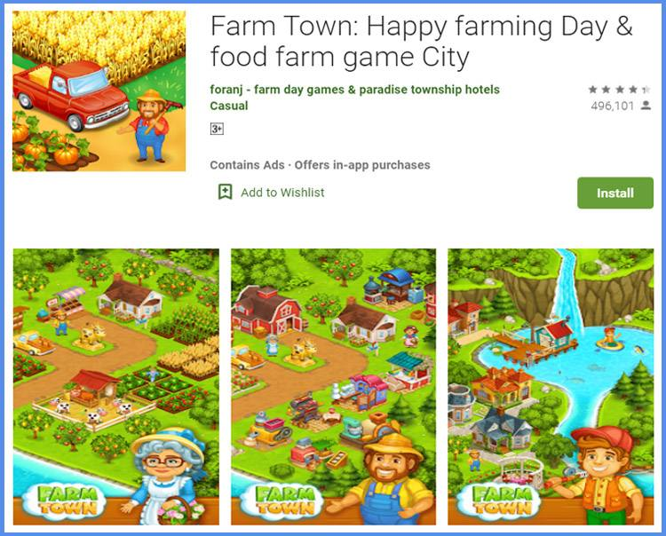 Farm Town Game Simulasi Peternakan Android