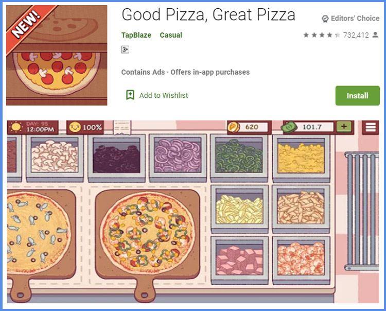 Good Pizza Game Memasak Populer Di Android