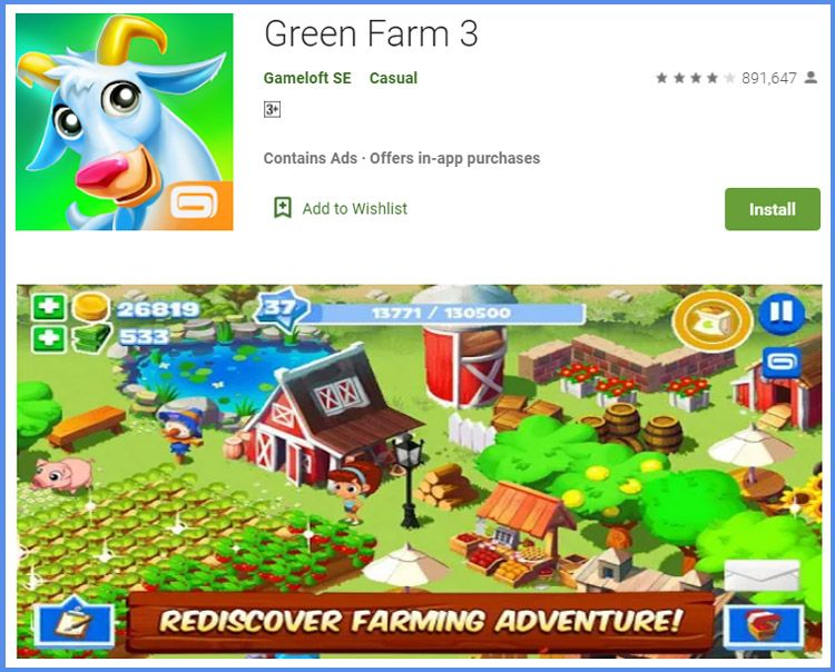 Green Farm 3 Game Peternakan Android Offline