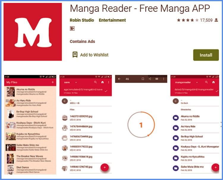 Manga Reader Aplikasi Baca Komik Gratis Paling Populer