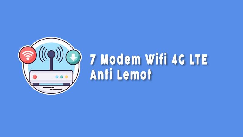 Modem 4g Lte Anti Lemot