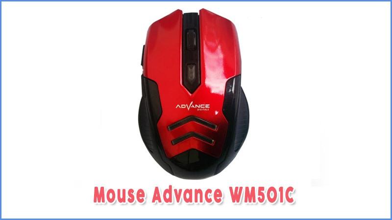 Mouse Advance Wm501c Mouse Wireless Murah Untuk Gamer