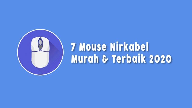 Mouse Nirkabel Murah Terbaik