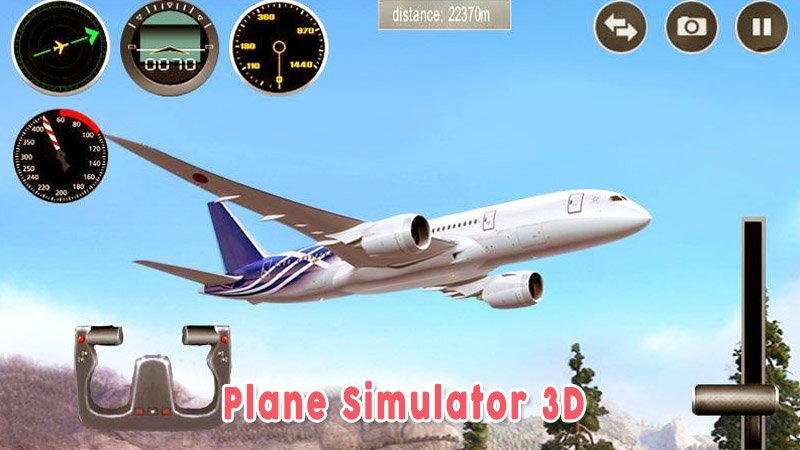 Plane Simulator 3d Game Simulasi Pesawat Favorit