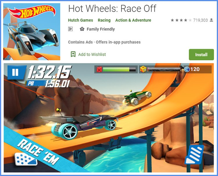Race Off Game Balapan Android