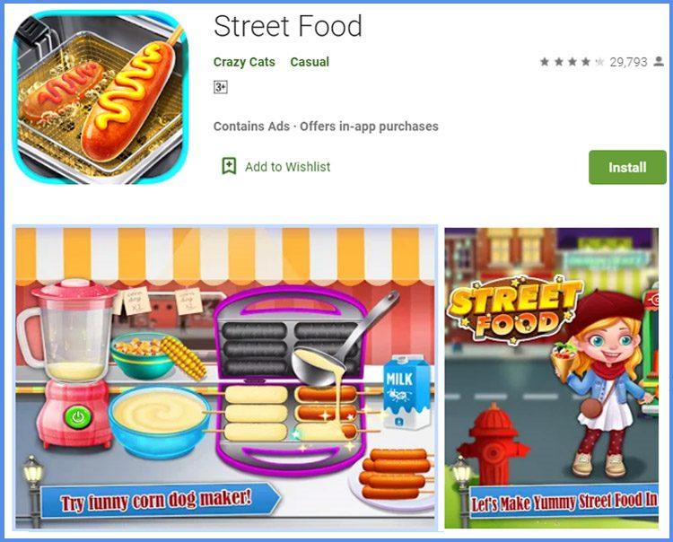 Street Food Aplikasi Game Memasak Terbaik Android