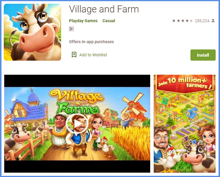 Village And Farm Game Simulasi Peternakan