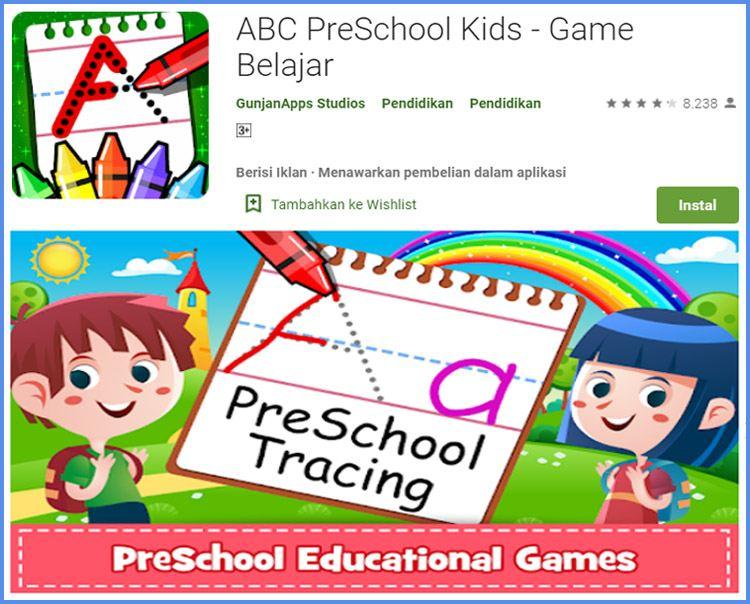 Abc Preschool Kids Game Edukasi Untuk Anak