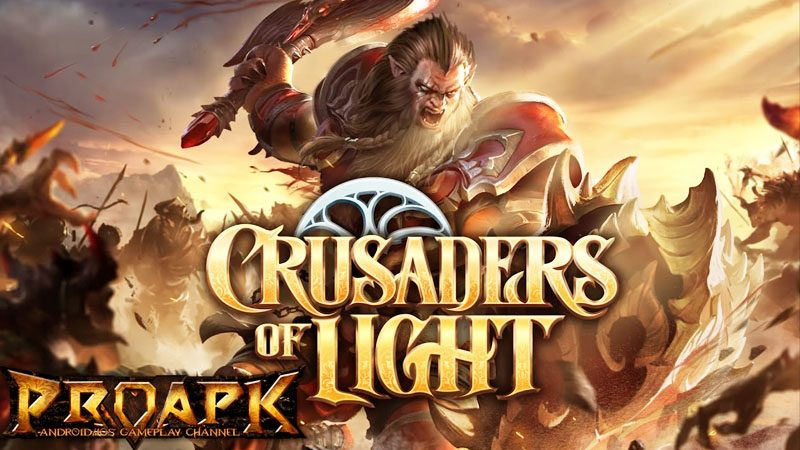 Crusaders Of Light Game Mmorpg Terbaik Android