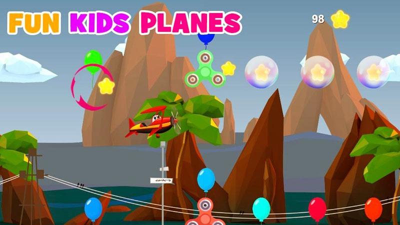 Fun Kids Planes Game Yang Aman Untuk Anak