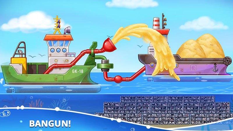 Game Bangun Rumah Pulau Game Anak Edukasi