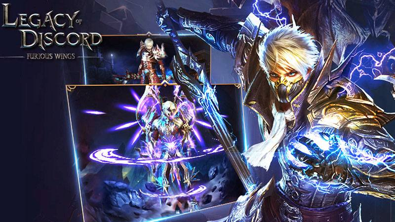 Legacy Of Discord Game Mmorpg Terbaik di Android