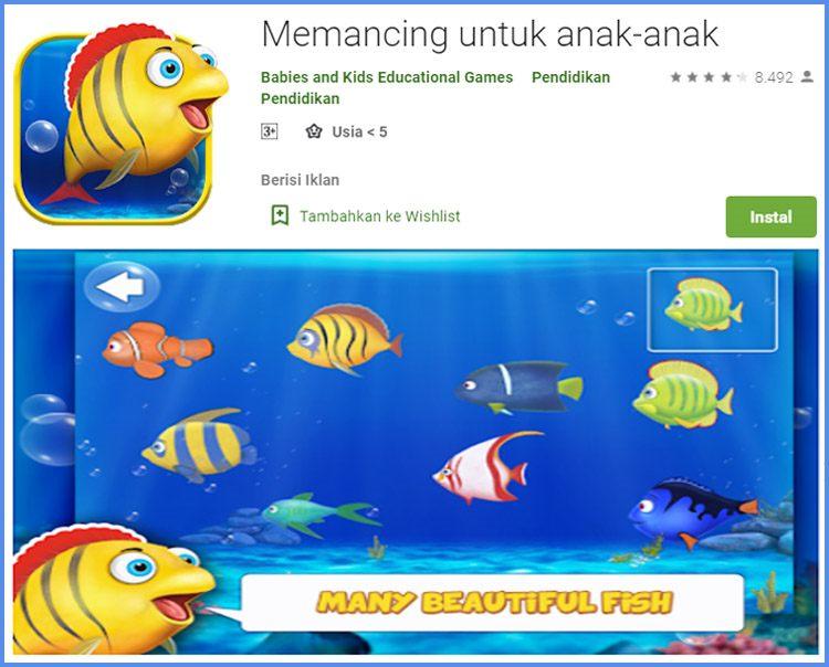 Memancing Untuk Anak Game Edukasi Untuk Anak