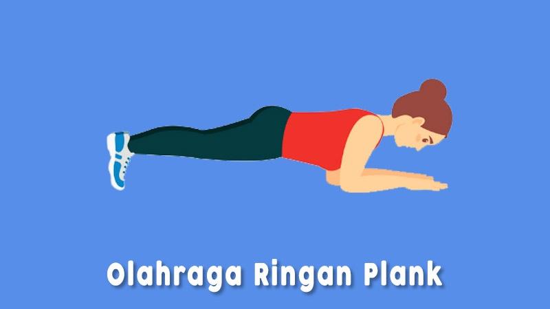 Plank Olahraga Ringan Di Rumah