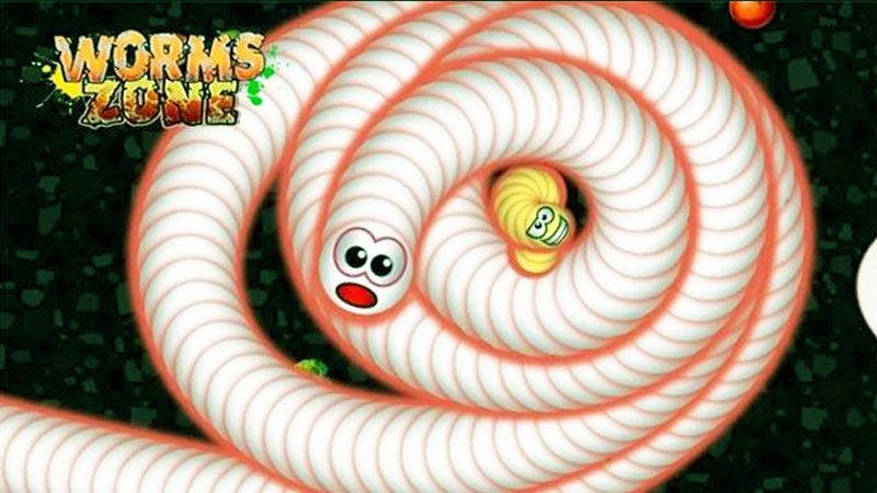 Worms Zone Game Android Gratis Terbaik