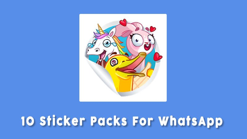 10 Sticker Packs For Whatsapp Aplikasi Sticker Whatsapp Unik