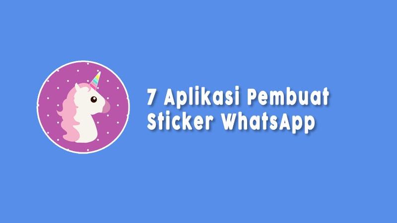 Aplikasi Stiker Whatsapp Unik