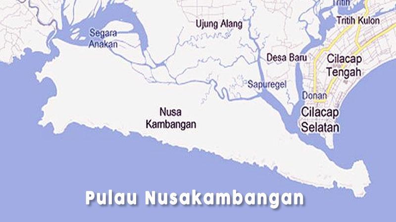 Legenda Terbentuknya Pulau Nusakambangan