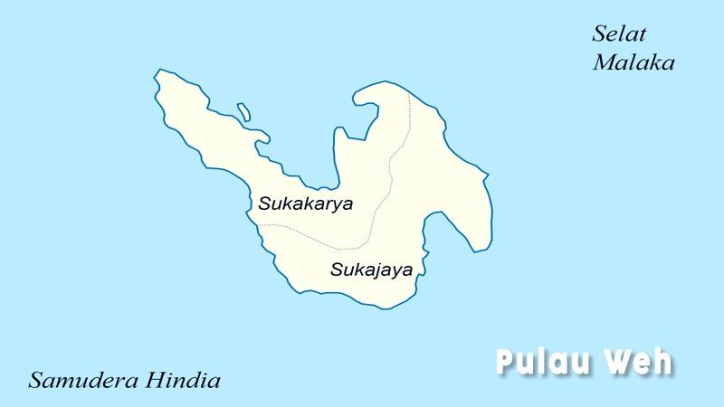 Legenda Terbentuknya Pulau Weh Aceh