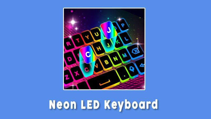 Neon Led Keyboard Aplikasi Keyboard Terbaik