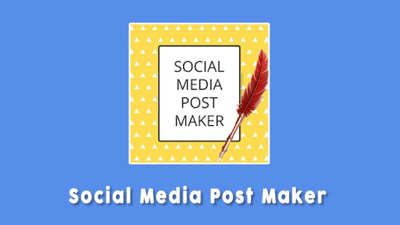 Social Media Post Maker Aplikasi Untuk Membuat Poster Android