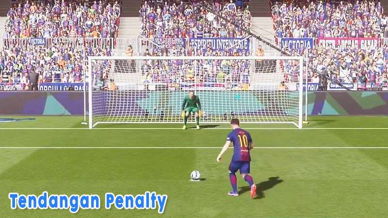 Tendangan Penalti Dalam Permainan Sepak Bola Dilakukan Dari Jarak Dekat